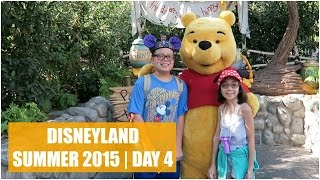 DISNEYLAND SUMMER 2015 DAY 4! - August 9, 2015