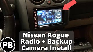 2008 - 2010 Nissan Rogue Stereo Install (Pioneer AVH-X2700BS) and Backup Camera Install