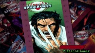 Ultimate Spiderman - Venom Gameplay - Wolverine Boss Fight - HD