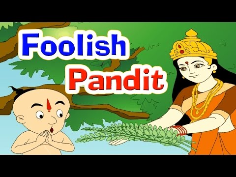 Foolish Pandit - Story For Children In English | Panchatantra Tales In English | Moral Stories
