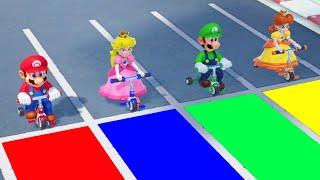 Super Mario Party - Mario vs Luigi vs Peach vs Daisy (Master CPU)