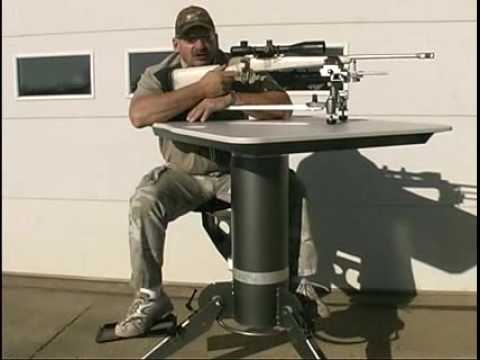 Foot Rest Accessory for [Model 2500 ]Portable Shooting Table - Video 2