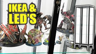 Light It Up With LEDs Giant  KEA Glass Case For Miniatures Figures \u0026 Collectibles