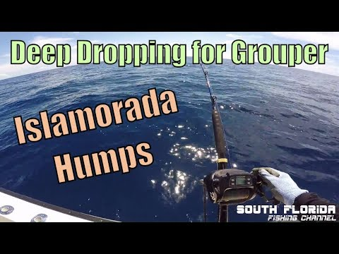 Deep Dropping Islamorada Humps for Grouper