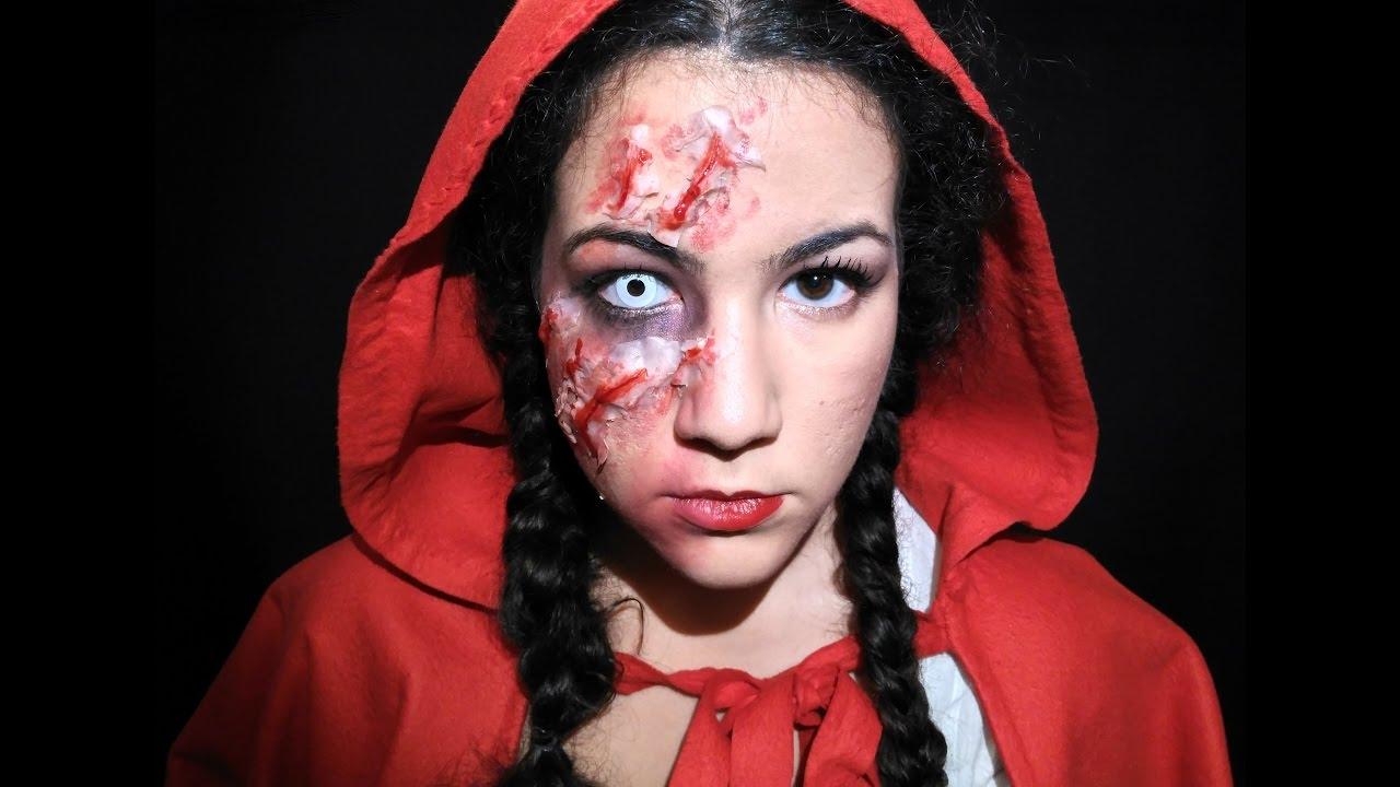 Caperucita Roja Halloween.Caperucita Roja Tenebrosa Halloween 5 Makeup By Piluka