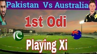 Pakistan Vs Australia 1st Odi 2019 Playing Xi(11) | Pak Conform Playing 11 thumbnail