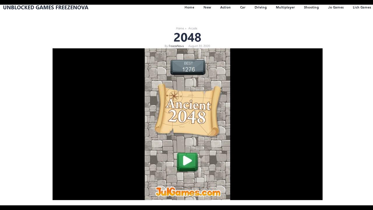 20 Unblocked