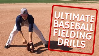ultimate baseball fielding drills hd