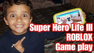 Roblox - Super Hero Life III - Game Play - Rafael Ninja Boy