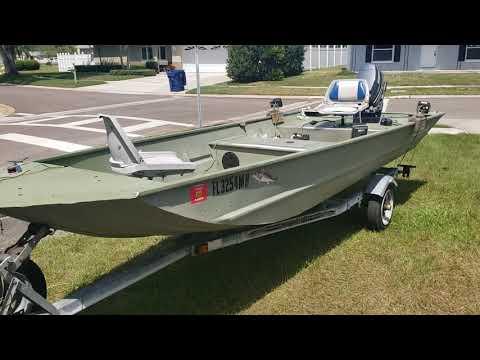 Craigslist John Boat Tracker 16