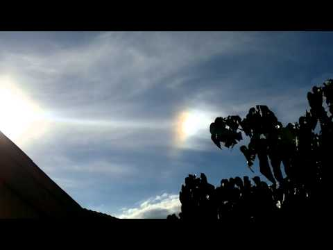 O que é isso no céu?