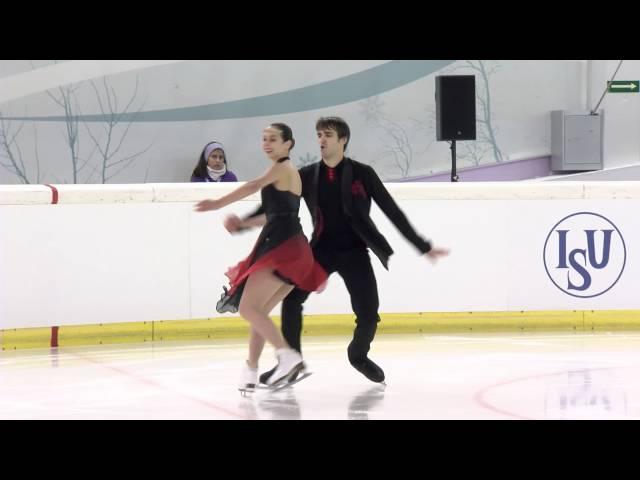2015 ISU Junior Grand Prix - Logroño Short Dance Betina POPOVA / Yuri VLASENKO RUS