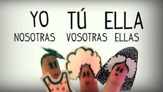Spanish song to learn Personal pronouns, basic grammar - Learn Spanish for kids