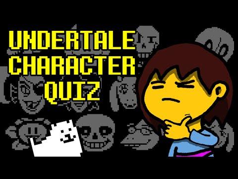 Undertale Interactive Quiz - Characters