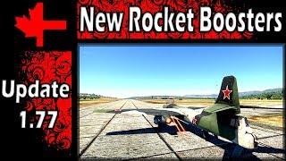 War Thunder - Update 1.77 - New Rocket boosters