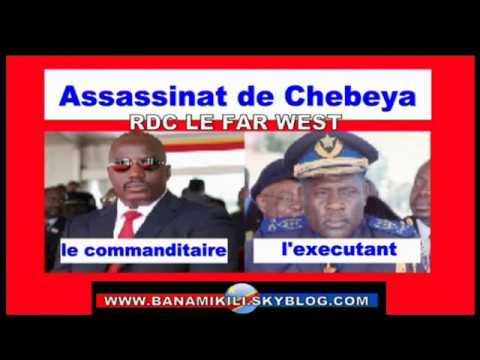 Assassinat de Floribert Chebeya 1 crime de plus dans le placard de Kabila qui dérange l'occident