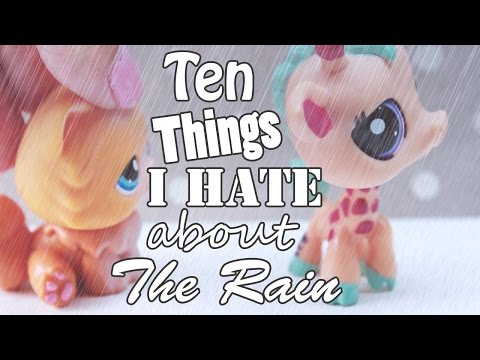 LPS  10 Things I Hate About the Rain!