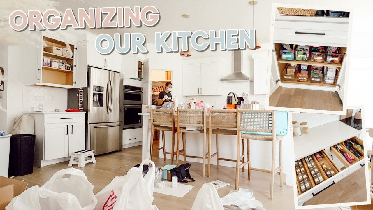 we got our kitchen professionally organized + full tour of everything!