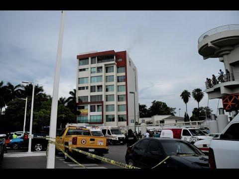 Edificio Departamental Se Incendia En Culiacán