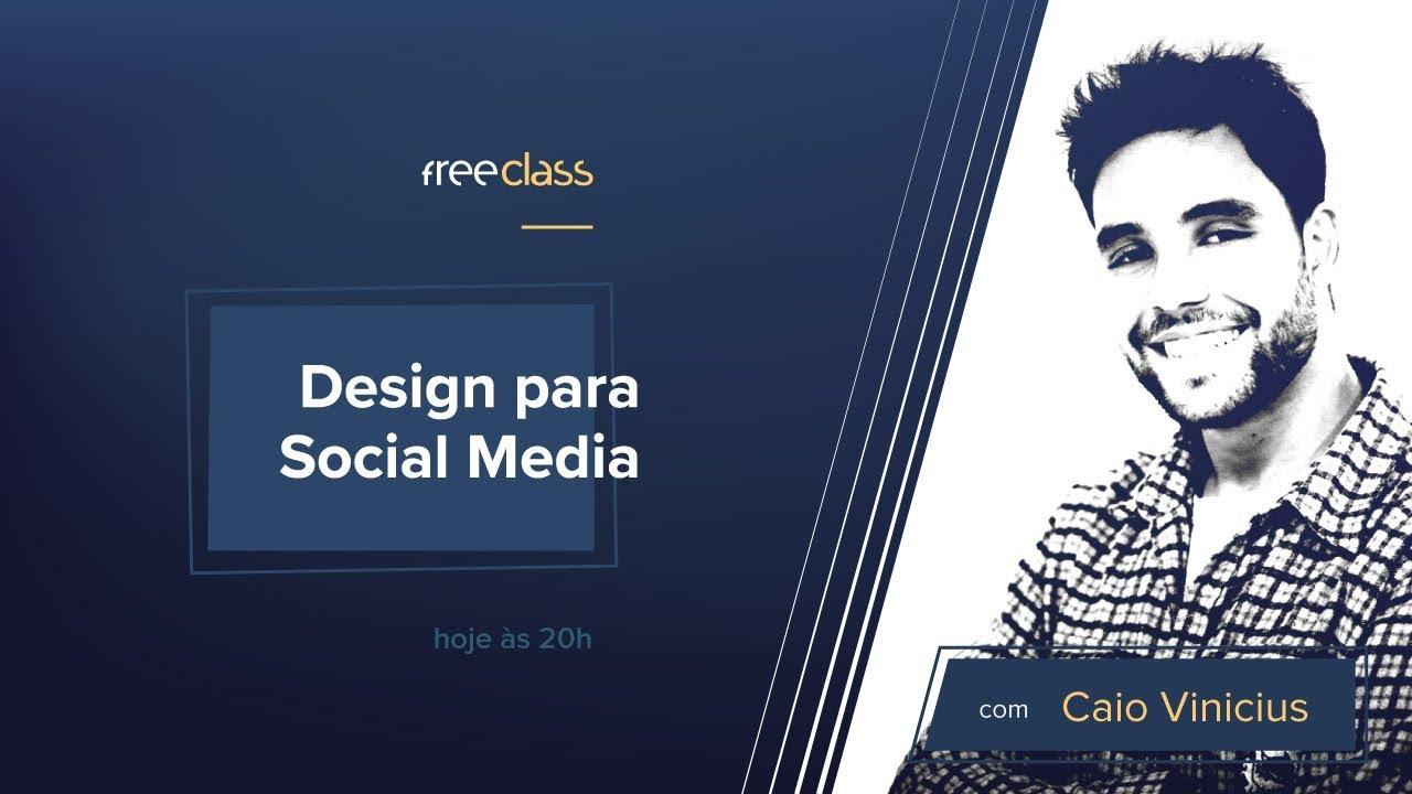Design Para Social Media Na Pratica Free Class Youtube