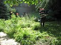 Разчистване на малък двор в Горубляне