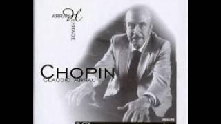 Chopin by arrau - barcarolle op. 60 in f sharp