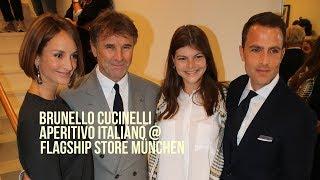 Brunello Cucinelli Aperitivo Italiano @ Flagship Store Maximilianstrasse (06.09.2017)