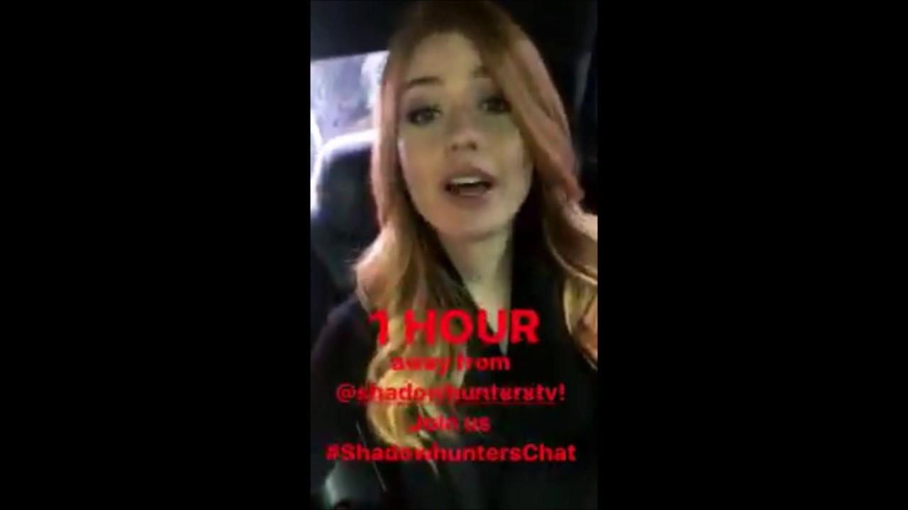 Katherine McNamara snapchat, twitter, instagram, facebook ...
