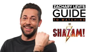 Zachary Levi's Guide to Watching Shazam! - How Celebrities Go to the Movies | Fandango All Access