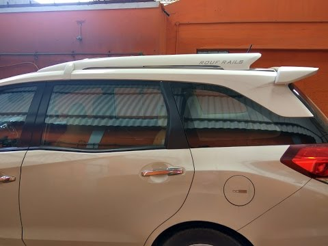 Honda Mobilio Luggage Carrier Brv Modified Accessories Youtube