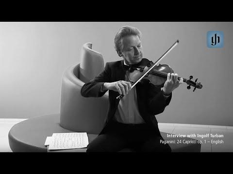 Paganini: 24 Capricci op. 1 - English - interview with Ingolf Turban