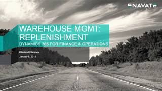 Warehouse Management Replenishment Demo