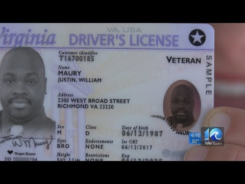 Virginia DMV Starts Rollout Of 'Real IDs'