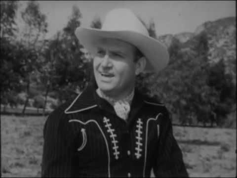 Gene Autry ' Back in the Saddle Again'