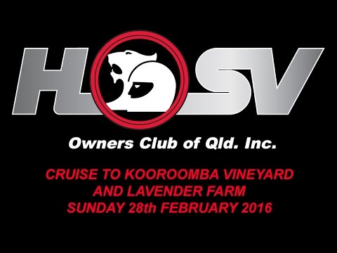Cruise To Kooroomba Vineyard and Lavender Farm - Sunday 28th February 2016