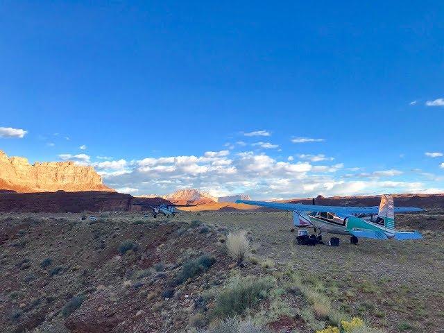 Hidden Splendor Airstrip- Utah, Cessna Skywagon Canyon Departure and Approach
