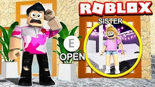 CAN YOU FIND MY SISTER'S BLOXBURG *SECRET* ZIMMER! (Roblox)