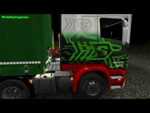 ETS2 Eddie Stobart #4 (London To Amsterdam Autumn Weather Mod  )