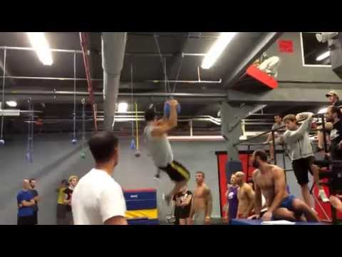 Joe Moravsky - American Ninja Warrior Labor Day Competition 2014