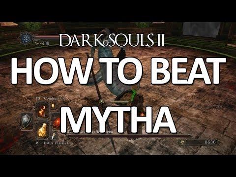 Dark Souls II - Mytha, The Baneful Queen Easy Kill