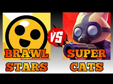 Brawl Stars Vs Super Cats|Skins|Gameplay|Graphics|Android Gameplay HD|Game Review