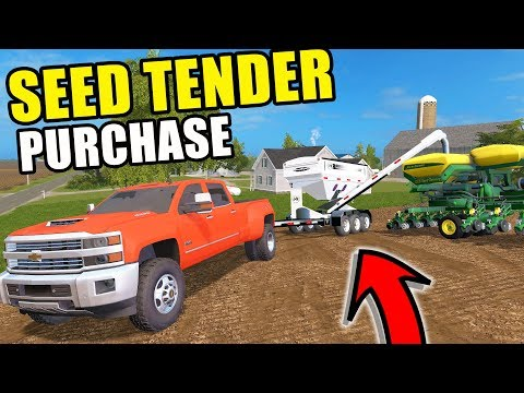 FARMING SIMULATOR 2017 | I FINALLY PICKED UP A SEED TENDER & PLANTING CORN WITH THE 9400! EP #33