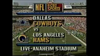 1990-11-18 Dallas Cowboys vs Los Angeles Rams