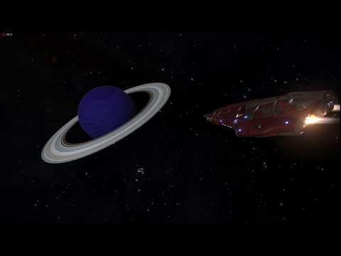 Elite Dangerous - Planetary Ring Mining