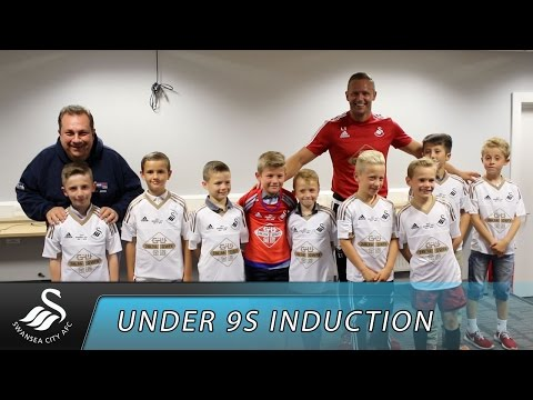 Swans TV - Under 9s induction
