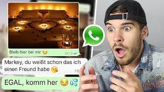 WhatsApp Prank an YouTuberin geht extrem schief (rastet aus)