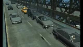 GTA 4 Приколы (Tricks) Part 1