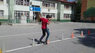 Şehit Mehmet Çetin Ortaokulu Beden Eğitimi Dersi parkur 3