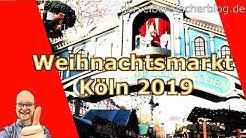 #Weihnachtsmarkt #Köln 2019 (Mein Besuch beim Weihnachtsmarkt am Schokoladenmuseum und Heumarkt)