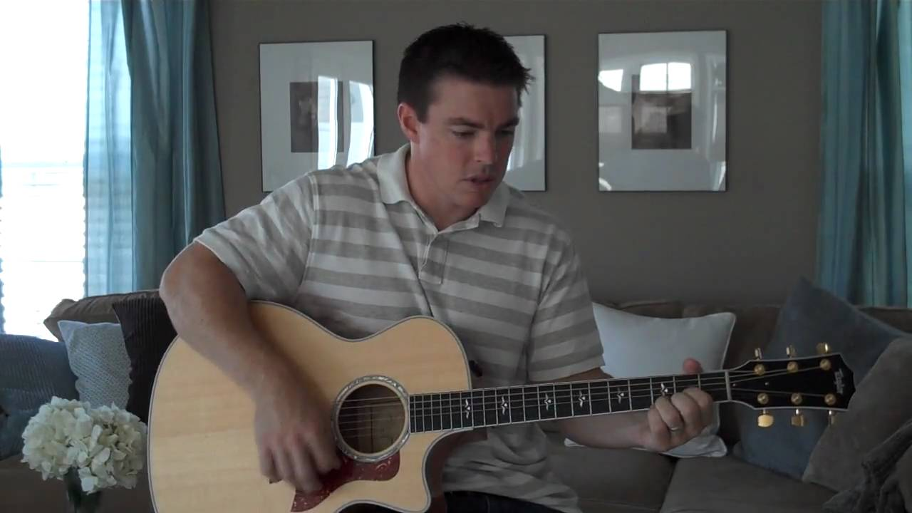 First Guitar Song Trading My Sorrows Matt Mccoy Youtube